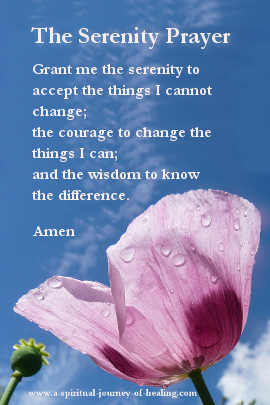 Click through for the serenity prayer