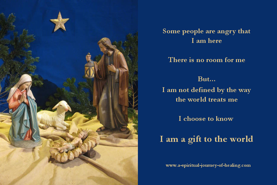 Alternative Christmas message - the message for each of us
