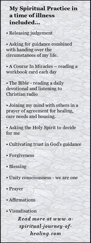 ME/ CFS and Spirituality - A Journey