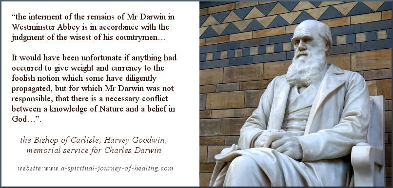 Charles Darwin Christian burial