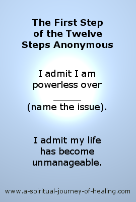 AA first step