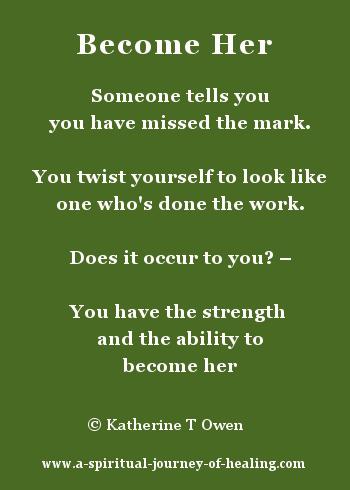 poem about acceptance