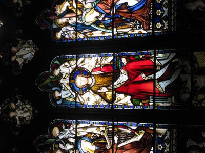 The village of Hambleden, England, Church of St Mary the Virgin