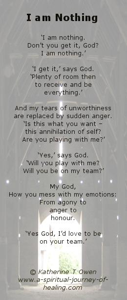 I am Nothing - poem