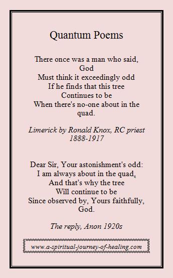 quantum poems