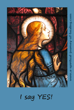 click through to buy card of mother mary