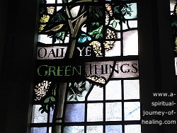oh all ye green things