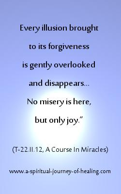 forgiveness definition from acim