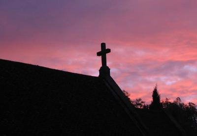 My Church at Sunset