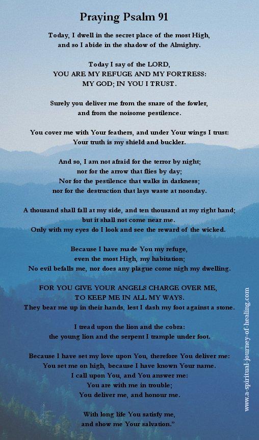Psalm 91 image